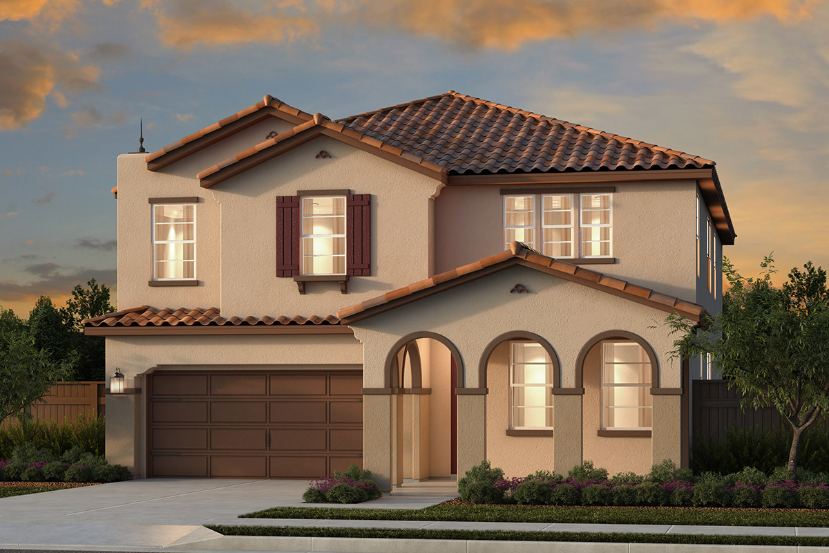 New Homes in Woodland, CA - Plan 3061 - Spanish Elevation