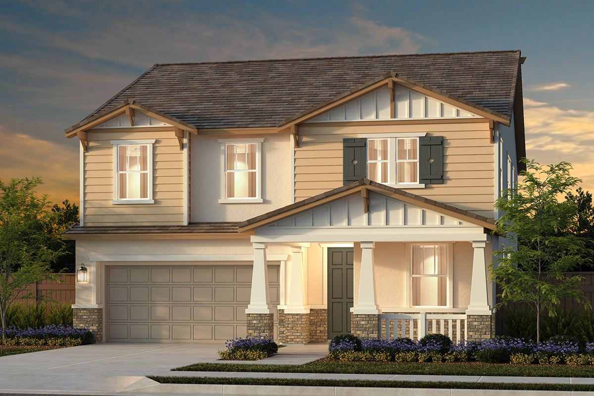 New Homes in Woodland, CA - Plan 3061 - Craftsman Elevation