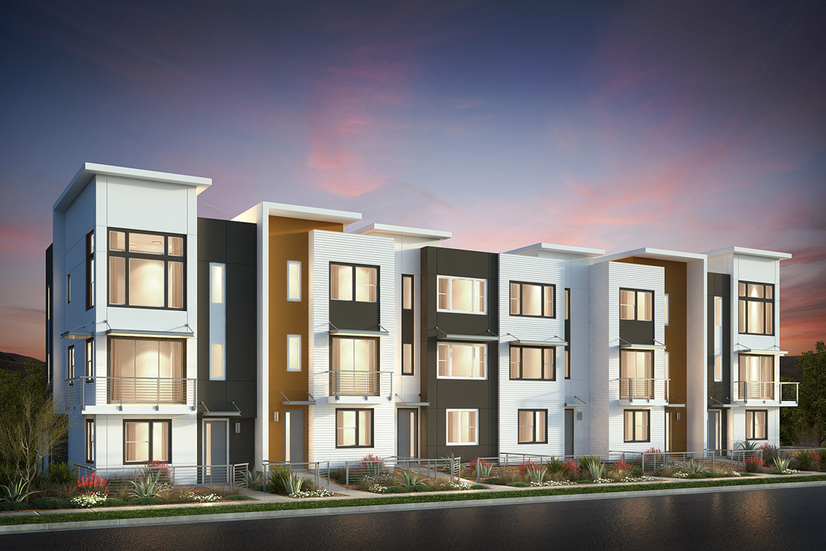 Browse new homes for sale in Catalyst at Communications Hill