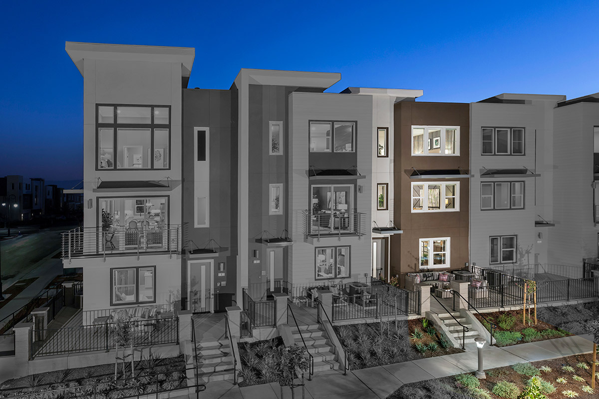 New Homes in San Jose, CA - Catalyst at Communications Hill Plan 1