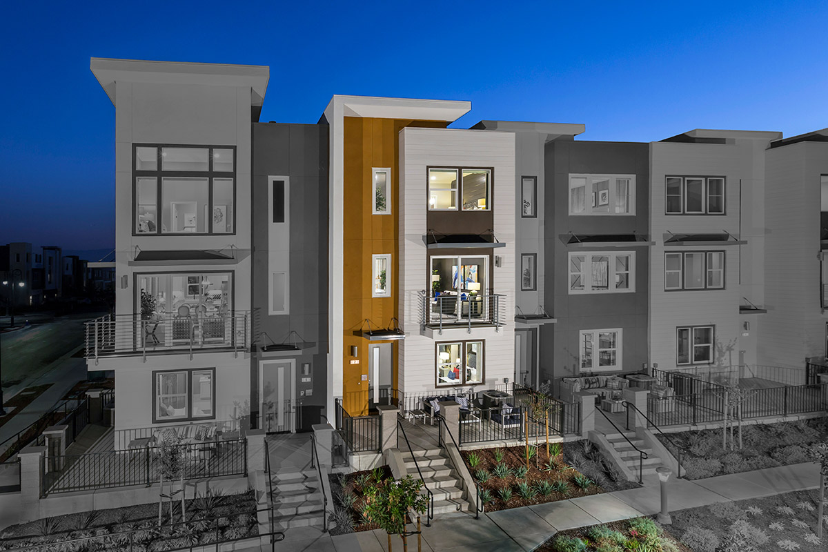 New Homes in San Jose, CA - Catalyst at Communications Hill Plan 2