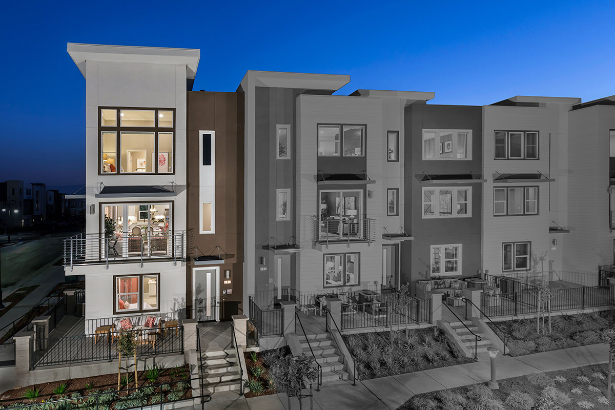New Homes in San Jose, CA - Catalyst at Communications Hill Plan 3