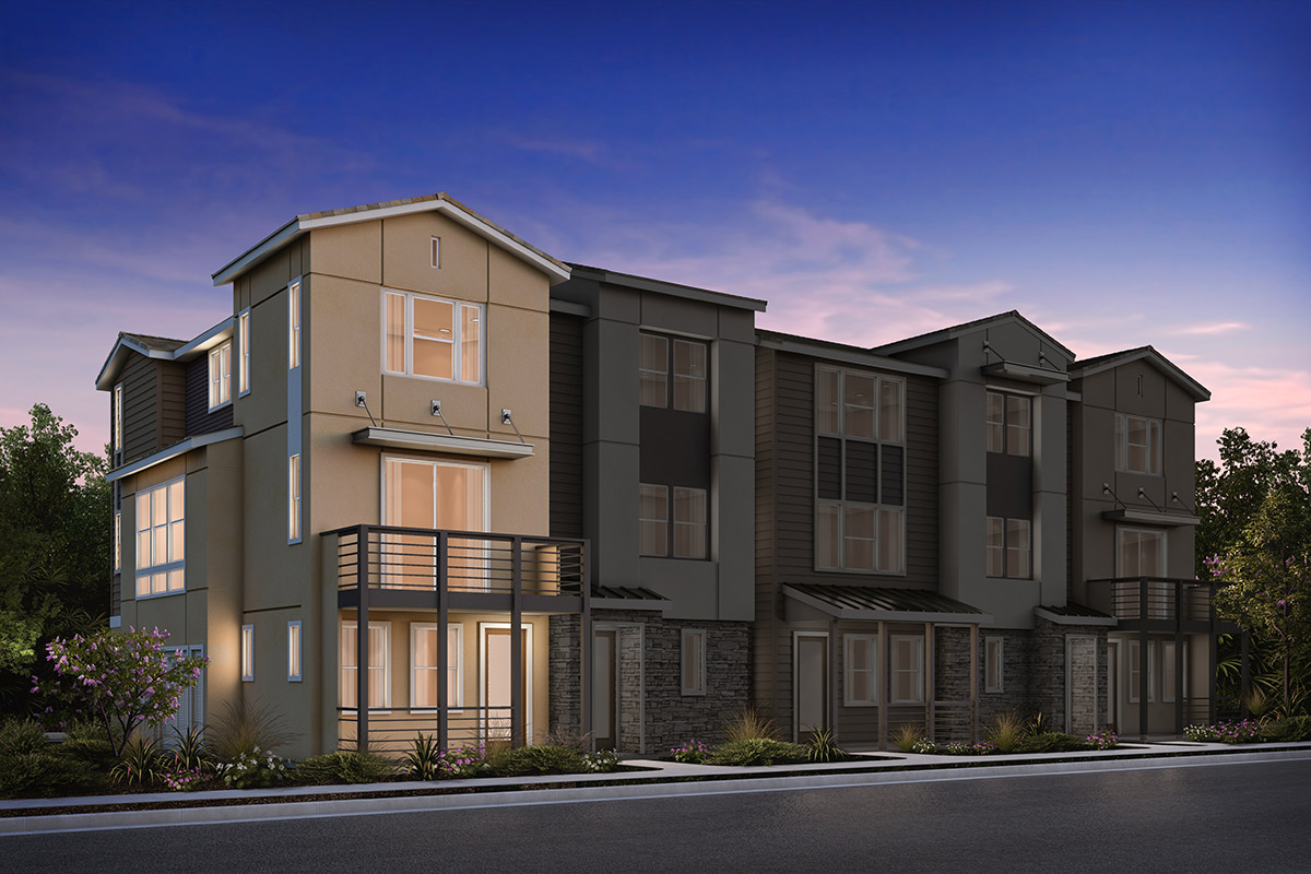 New Homes in Milpitas, CA - 5-Plex Elevation B