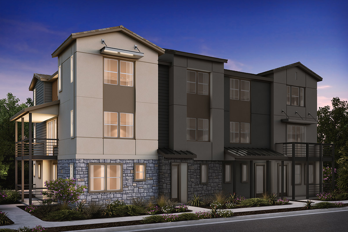 New Homes in Milpitas, CA - Plan 2 ALT Modeled