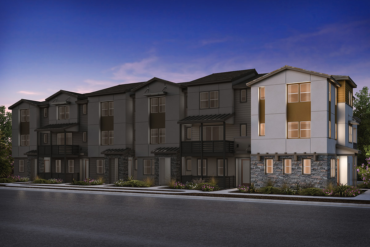 New Homes in Milpitas, CA - 6-Plex Elevation B