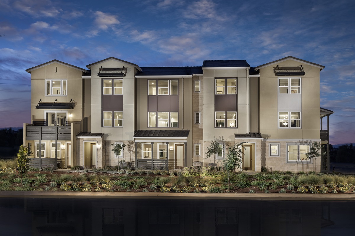 New Homes in Milpitas, CA - Circuit 5-Plex Building 3BX