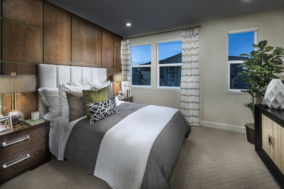 New Homes in Milpitas, CA - Circuit Plan 1 Master Bedroom