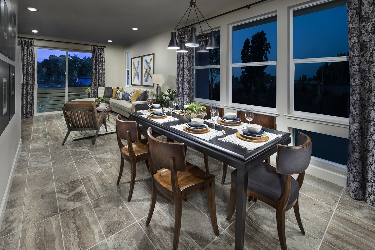 New Homes in Milpitas, CA - Circuit Plan 2 Dining Room