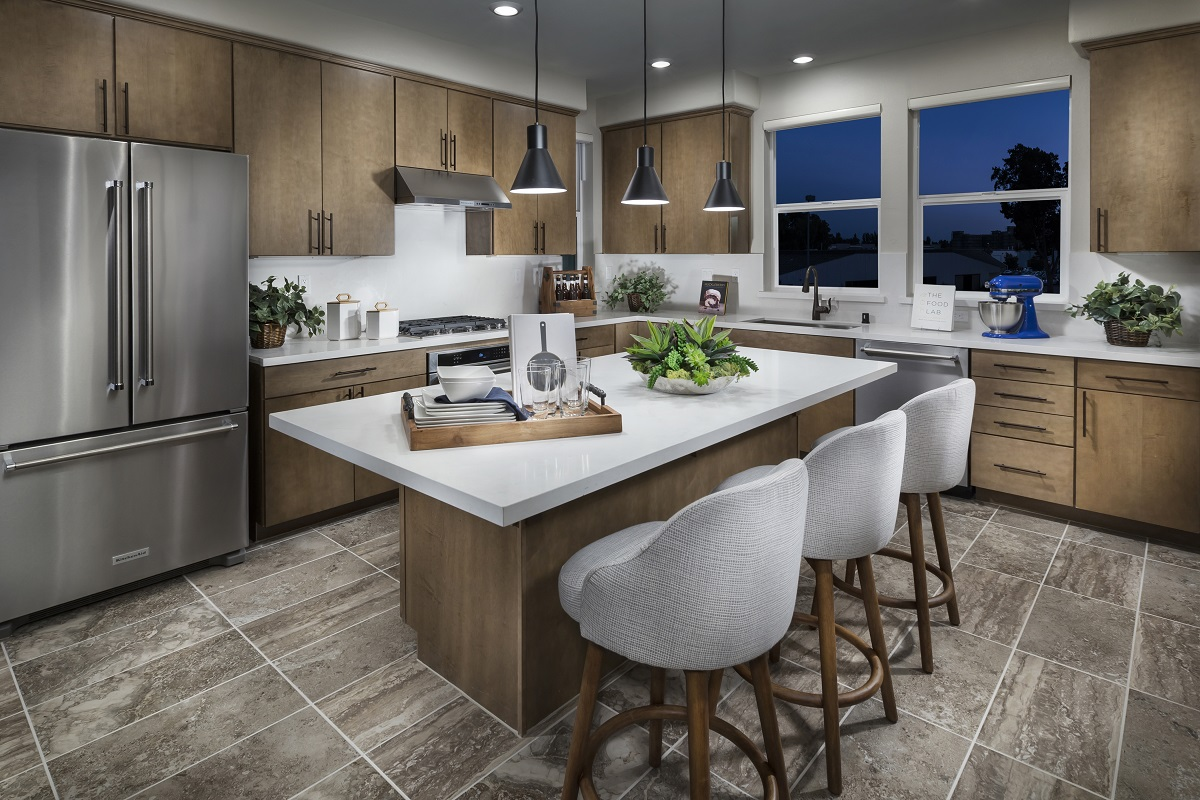 New Homes in Milpitas, CA - Circuit Plan 2 Kitchen