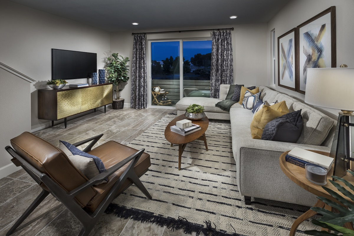 New Homes in Milpitas, CA - Circuit Plan 2 Living Room
