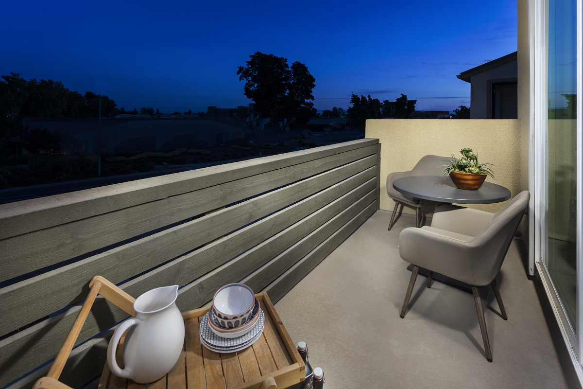 New Homes in Milpitas, CA - Circuit Plan 2 Outdoor Deck