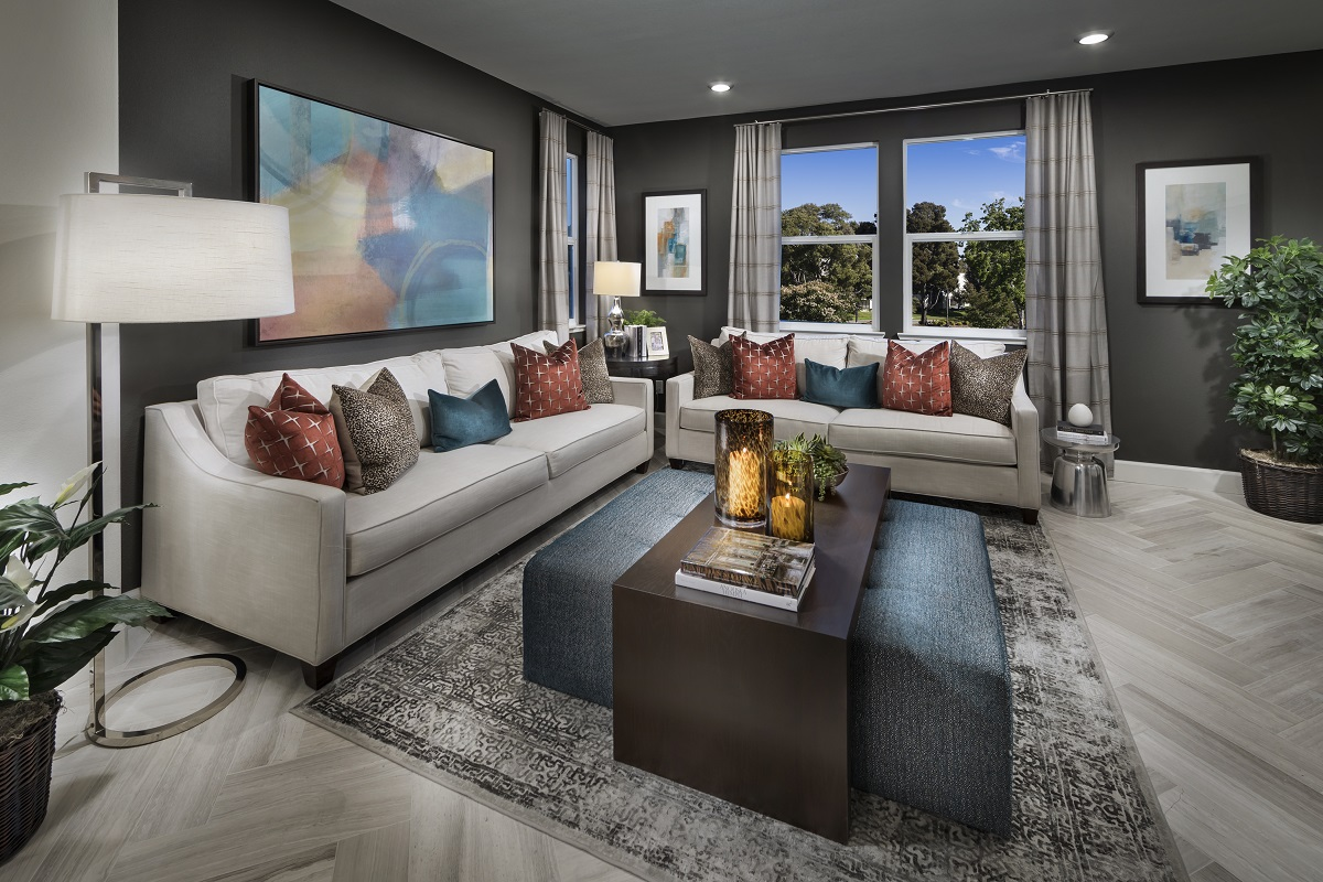 New Homes in Milpitas, CA - Circuit Plan 2 ALT Living Room