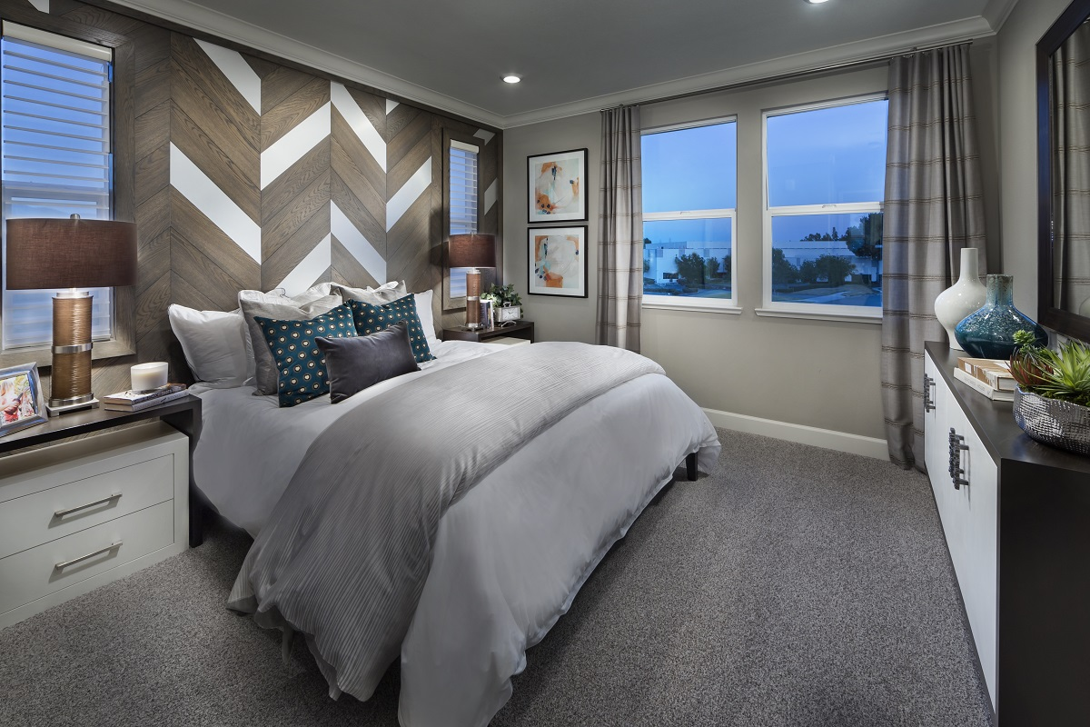 New Homes in Milpitas, CA - Circuit Plan 2 ALT Master Bedroom