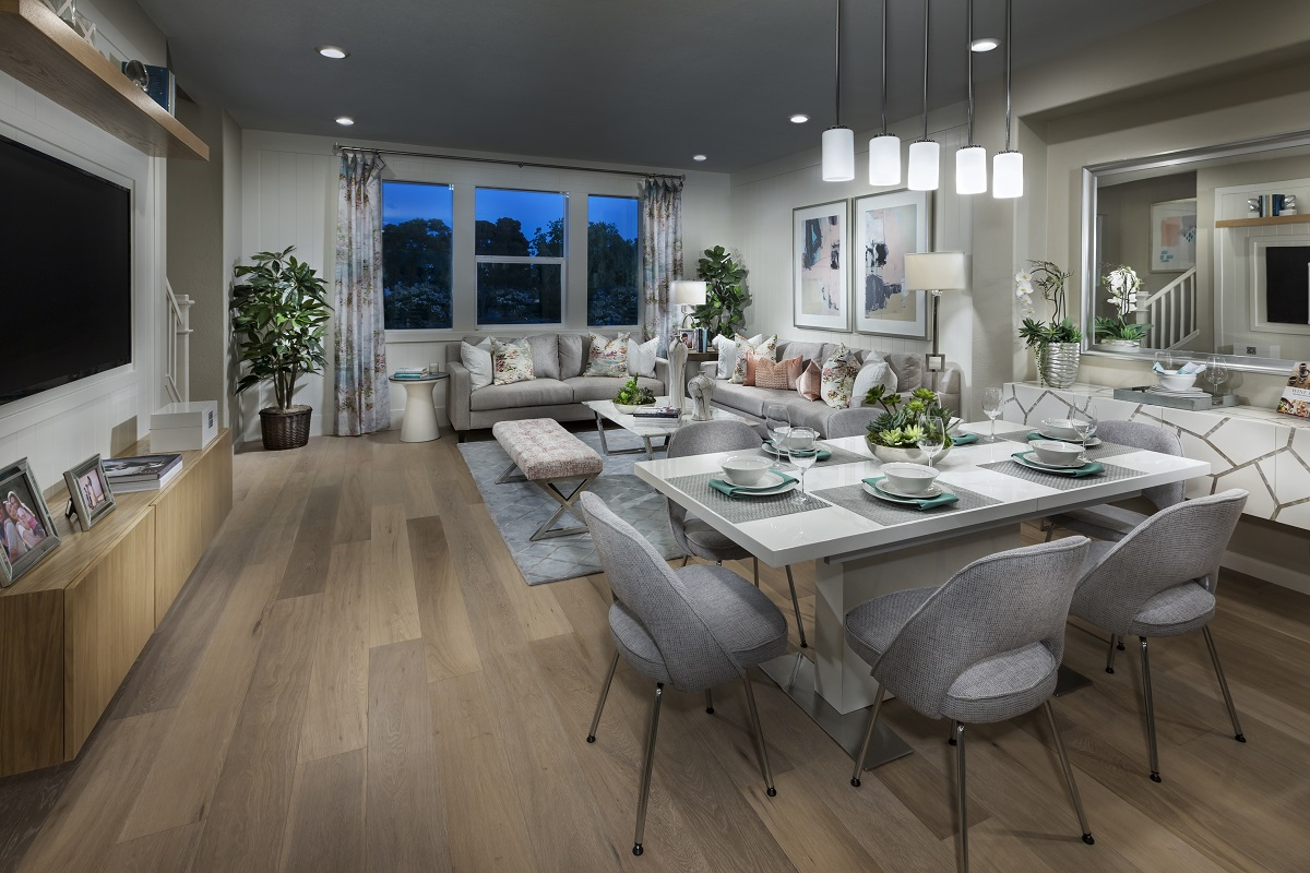 New Homes in Milpitas, CA - Circuit Plan 3 ALT Dining Room