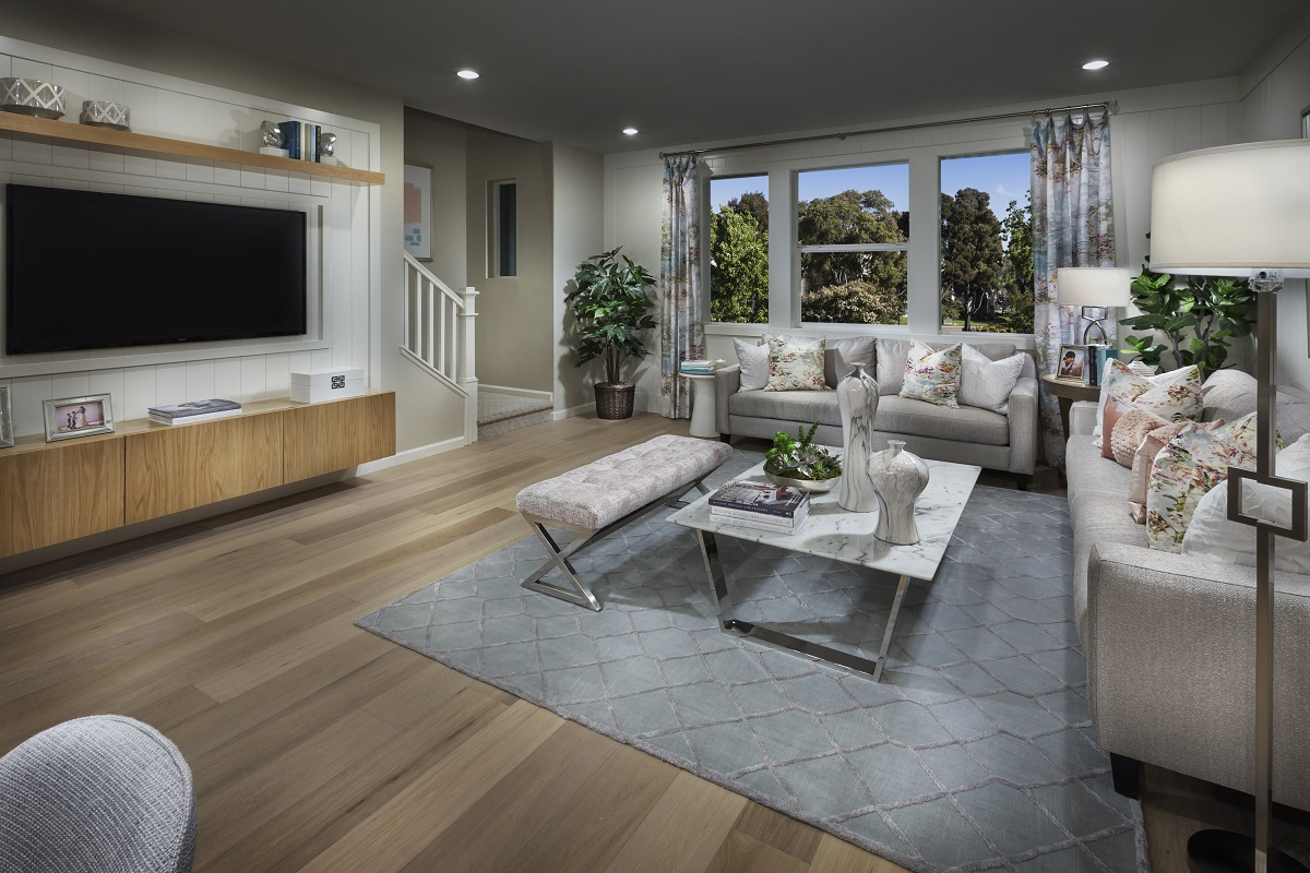 New Homes in Milpitas, CA - Circuit Plan 3 ALT Living Room