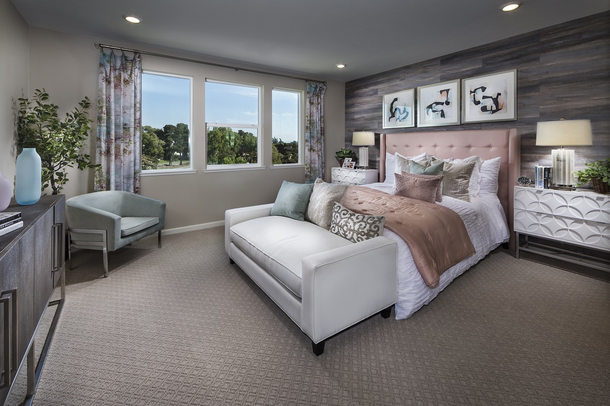 New Homes in Milpitas, CA - Circuit Plan 3 ALT Master Bedroom