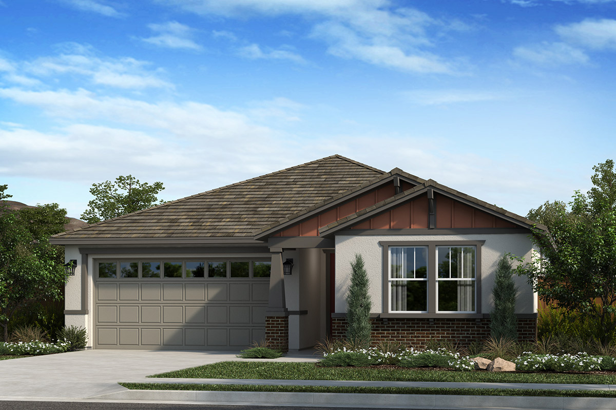 New Homes in Dixon, CA - Elevation B