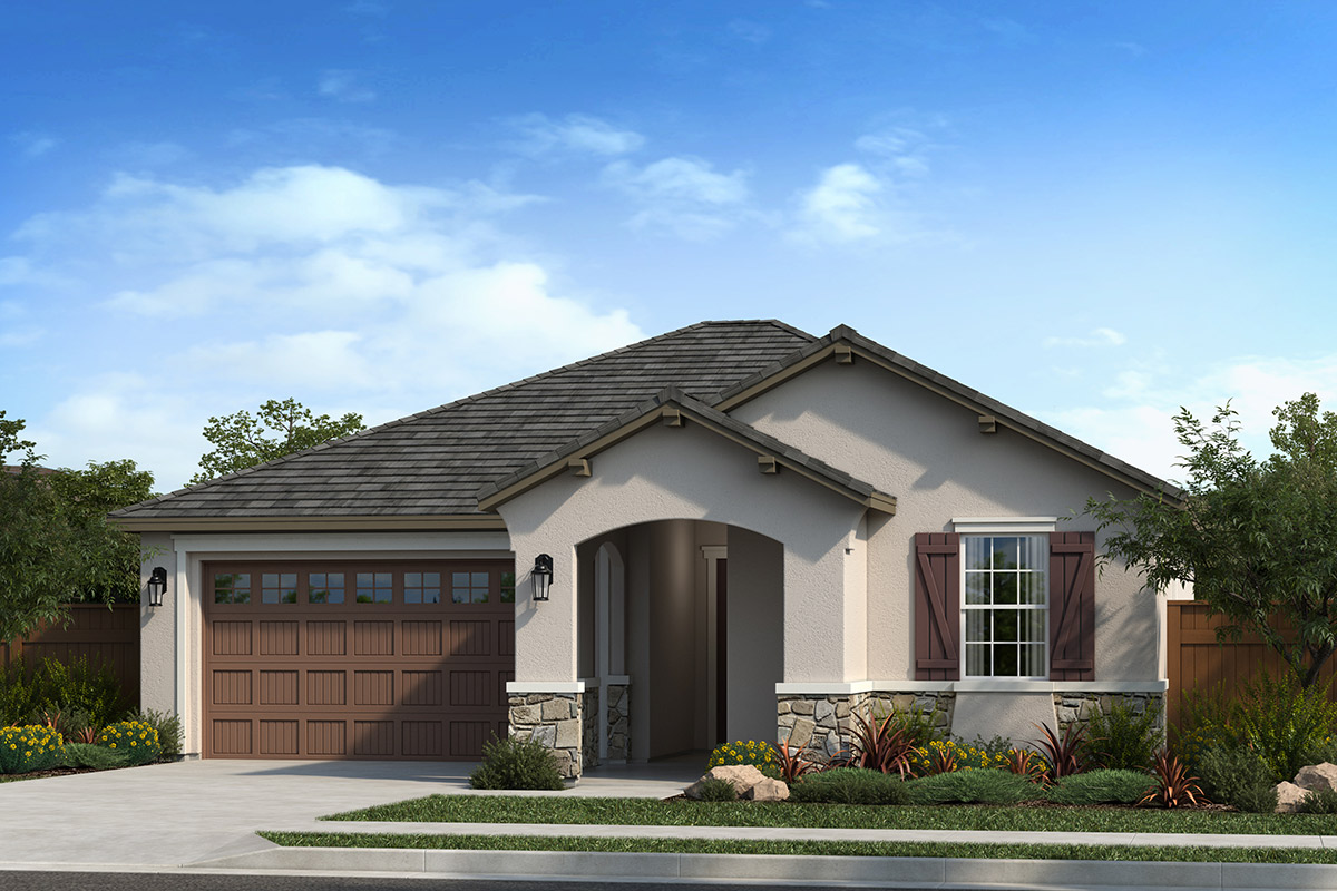 New Homes in Dixon, CA - Elevation D