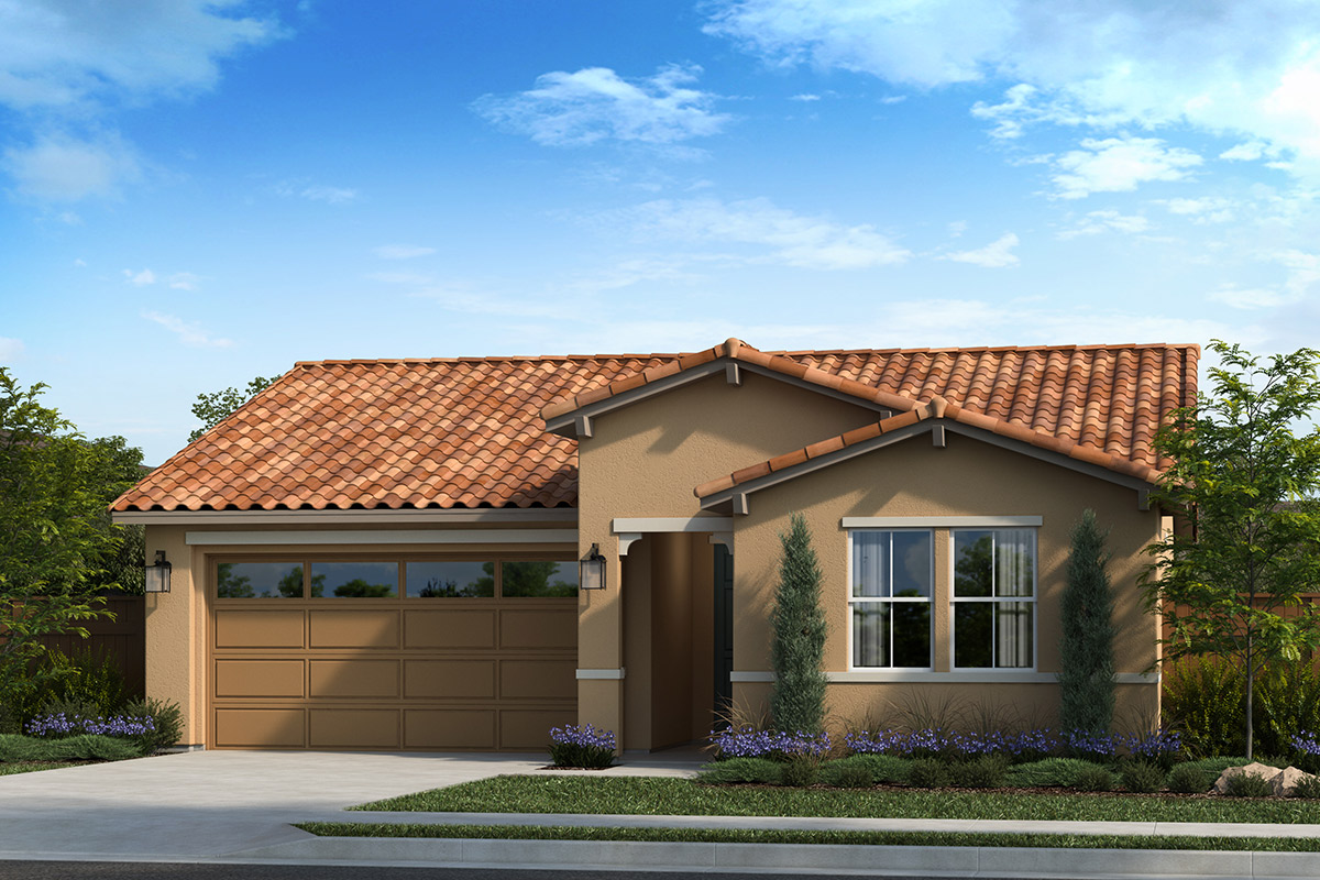 New Homes in Dixon, CA - Copperleaf at Homestead Plan 1450 Elevation E