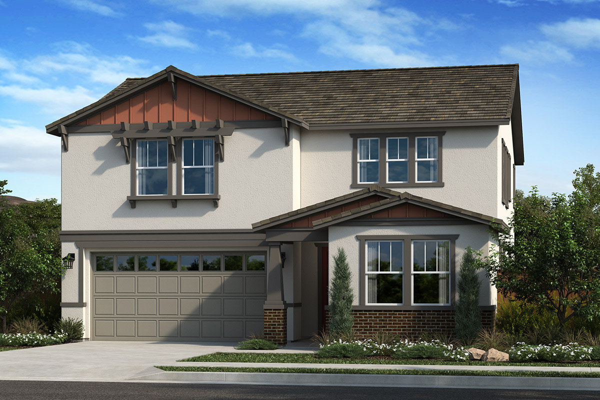 New Homes in Dixon, CA - Copperleaf at Homestead Plan 2319 Elevation B