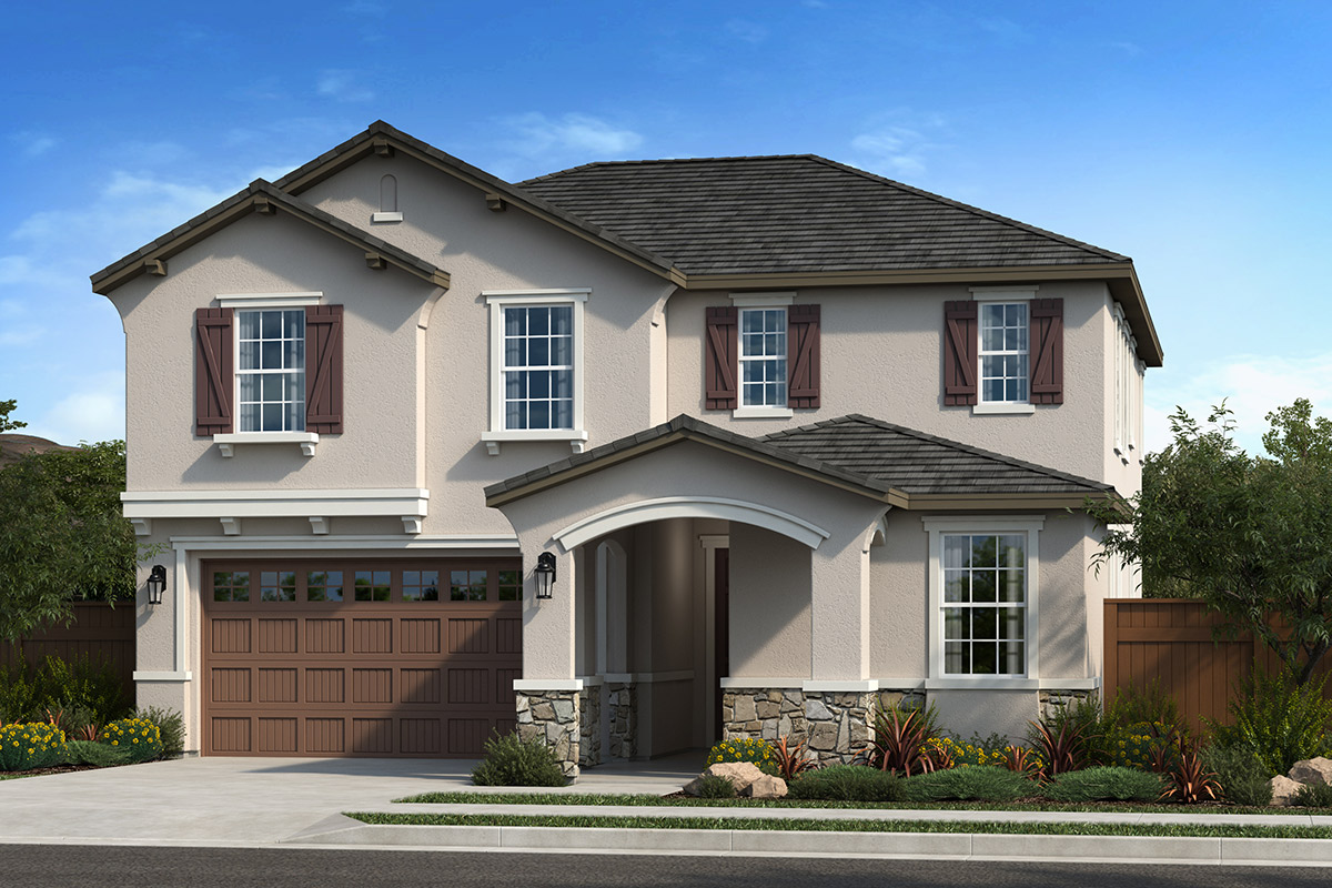 New Homes in Dixon, CA - Copperleaf at Homestead Plan 2319 Elevation D