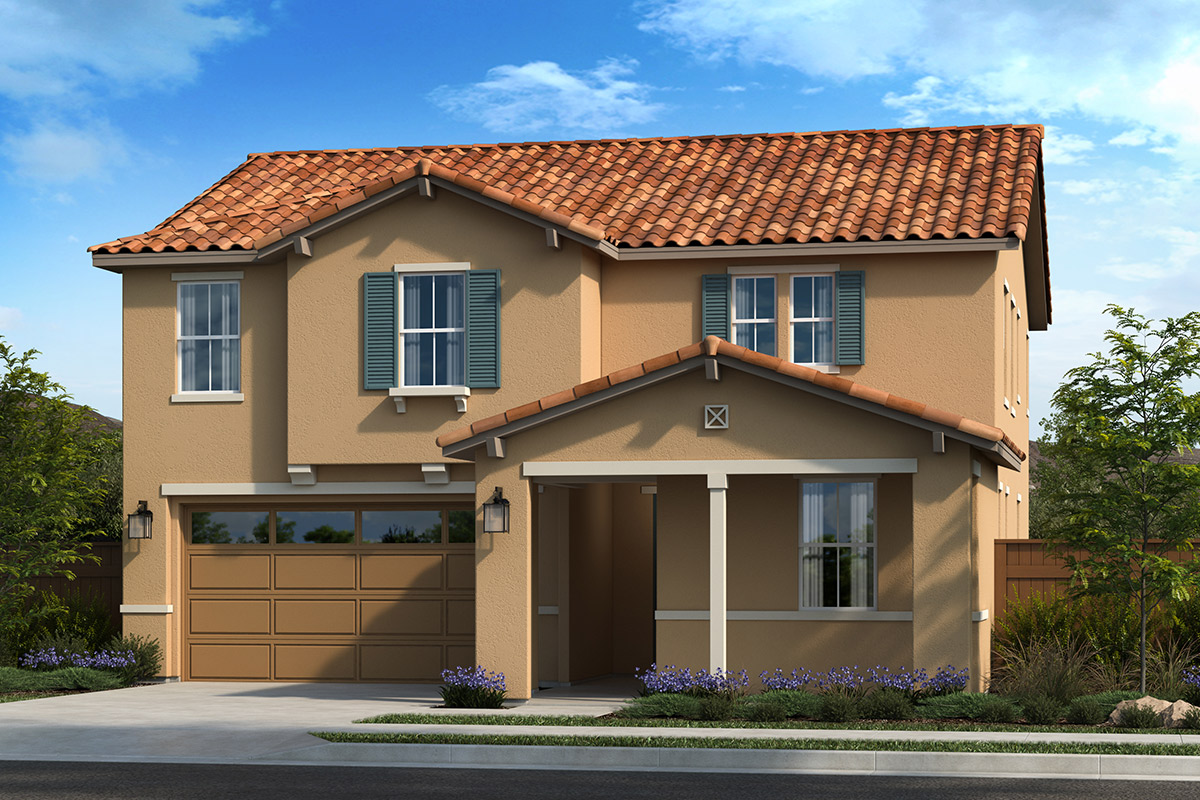 New Homes in Dixon, CA - Copperleaf at Homestead Plan 2319 Elevation E