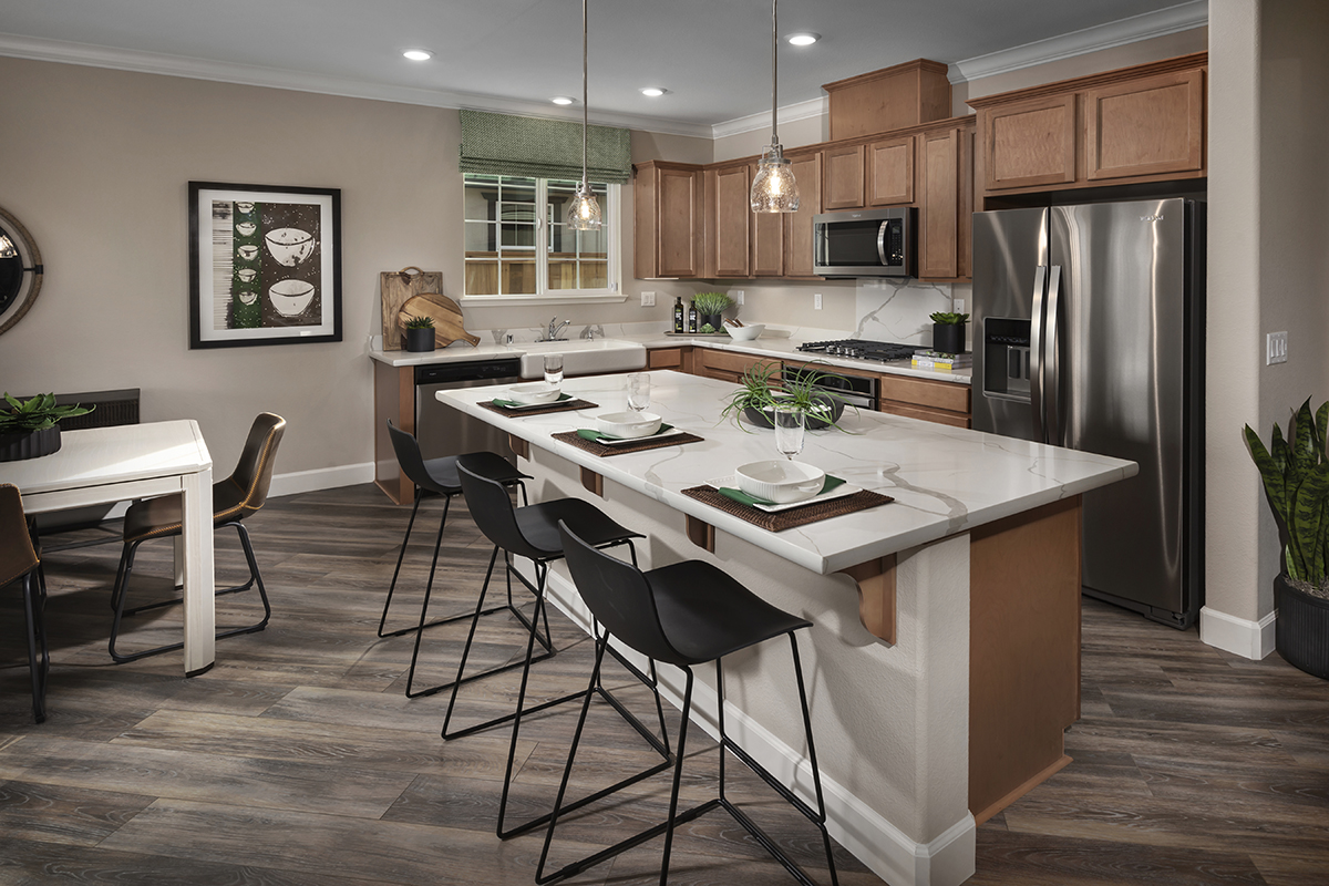 New Homes in Dixon, CA - Copperleaf at Homestead Plan 1769 Kitchen