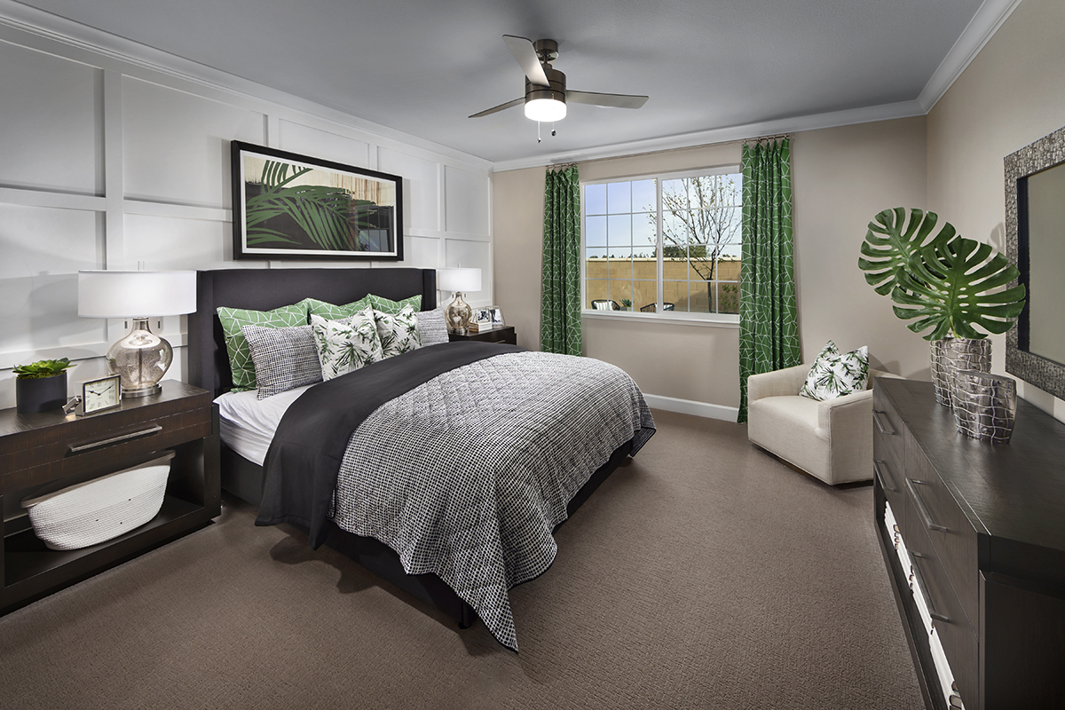 New Homes in Dixon, CA - Copperleaf at Homestead Plan 1769 Master Bedroom