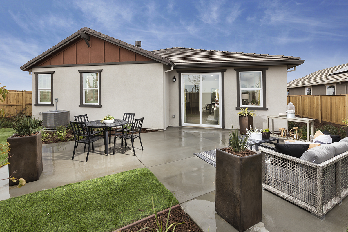 New Homes in Dixon, CA - Copperleaf at Homestead Rear Exrterior