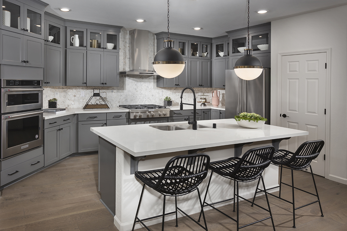 New Homes in Dixon, CA - Copperleaf at Homestead Plan 1934 Kitchen