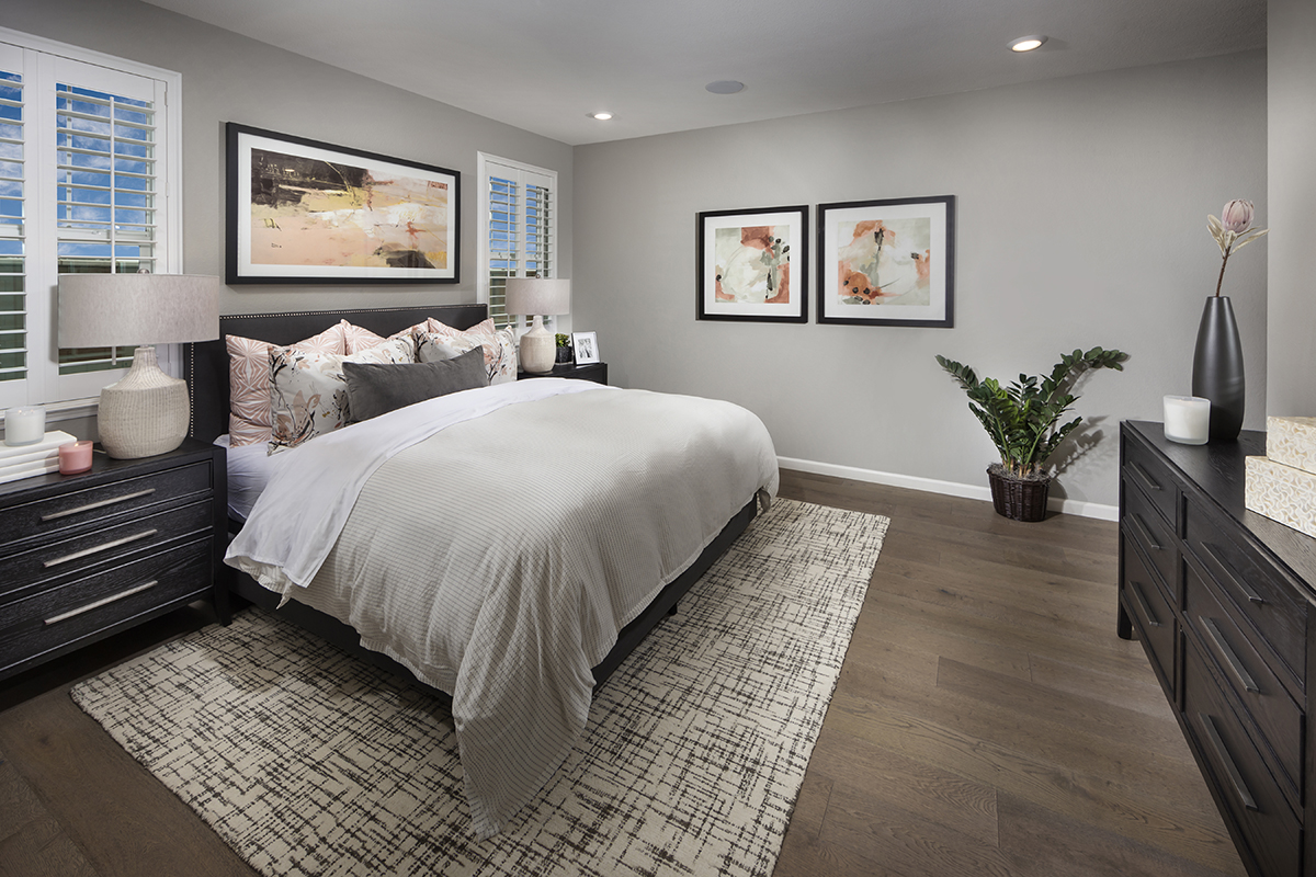 New Homes in Dixon, CA - Copperleaf at Homestead Plan 1934 Master Bedroom