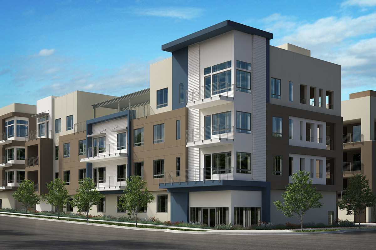 New Homes in San Jose, CA - Latitude at Communications Hill Homesite 165
