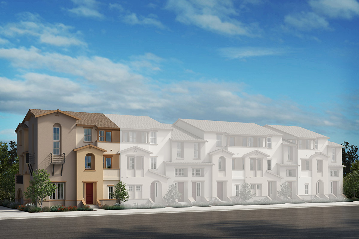 New Homes in Redwood City, CA - Plan 1 Modeled