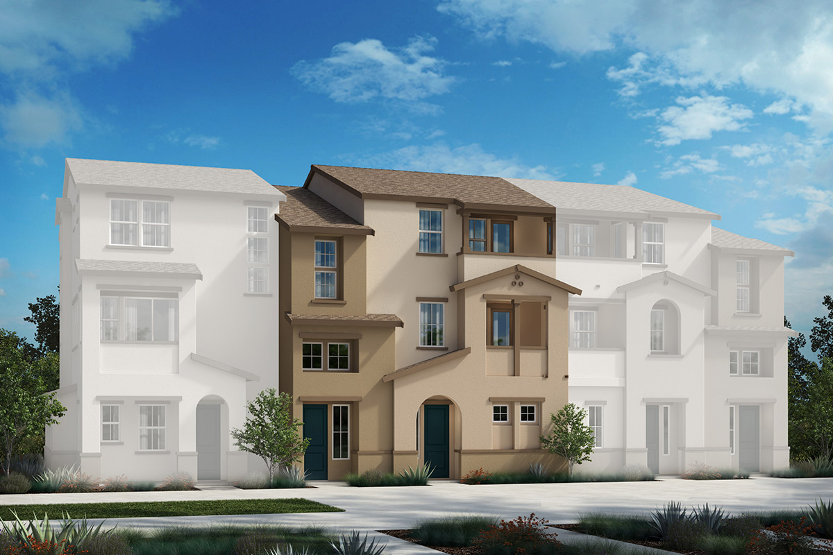 New Homes in Redwood City, CA - Link 33 5-Plex Elevation A
