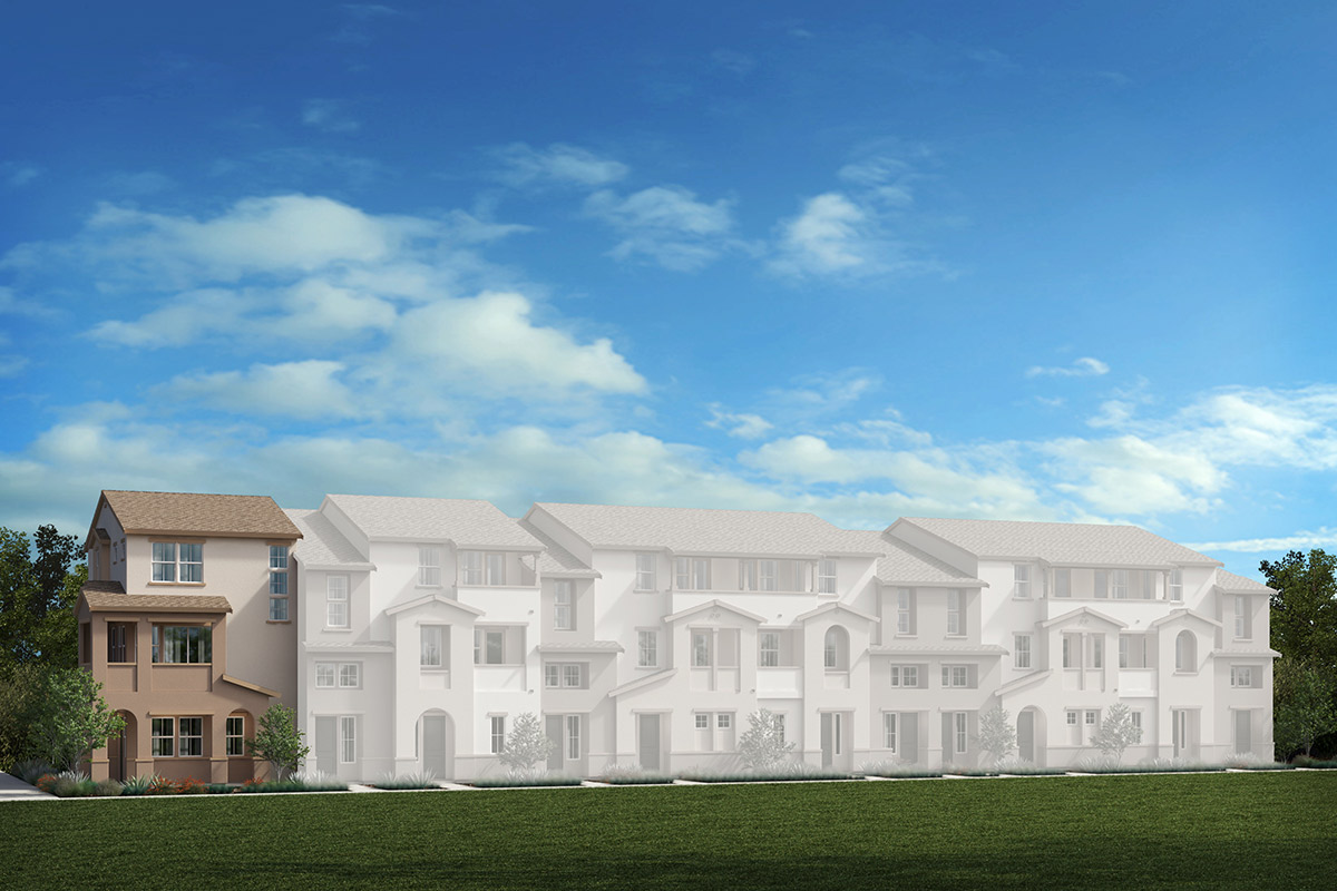 New Homes in Redwood City, CA - 11-Plex Elevation A