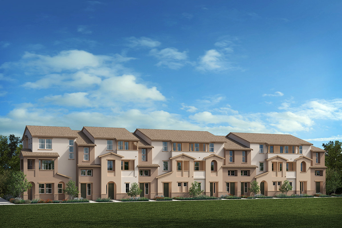 New Homes in Redwood City, CA - Link 33 11-Plex Elevation A