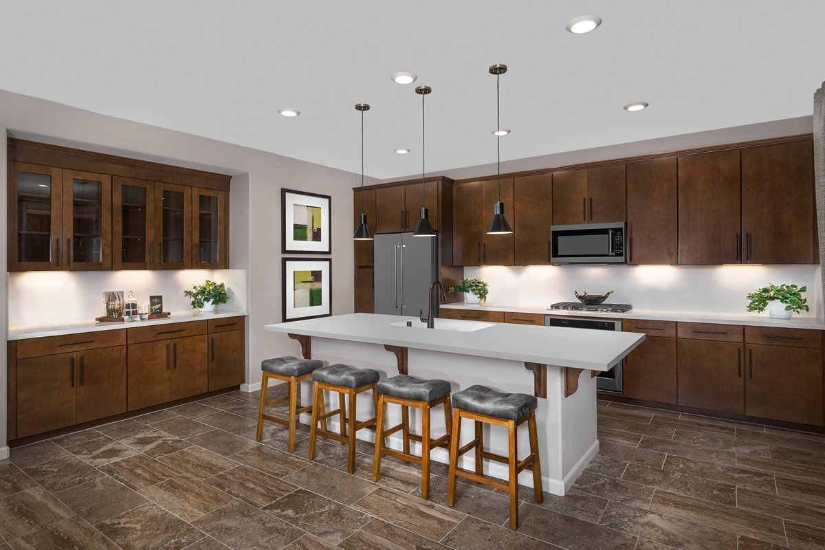 New Homes in Rohnert Park, CA - Live Oak at University District Plan 1787 - Kitchen