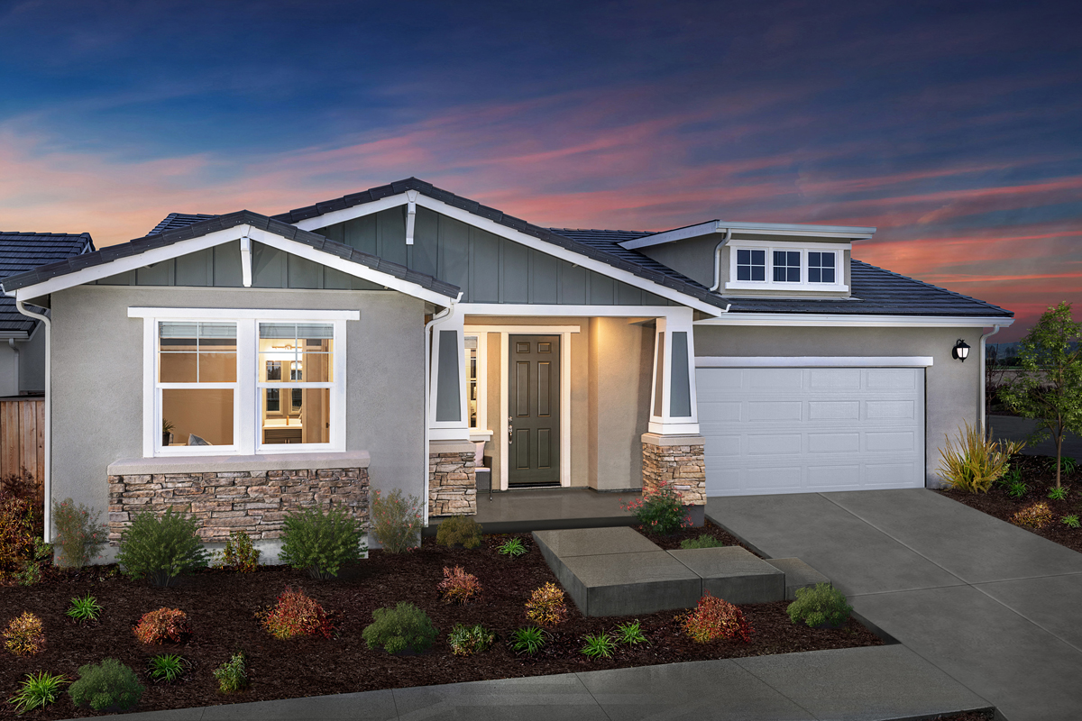 New Homes in Rohnert Park, CA - Live Oak at University District Plan 2004