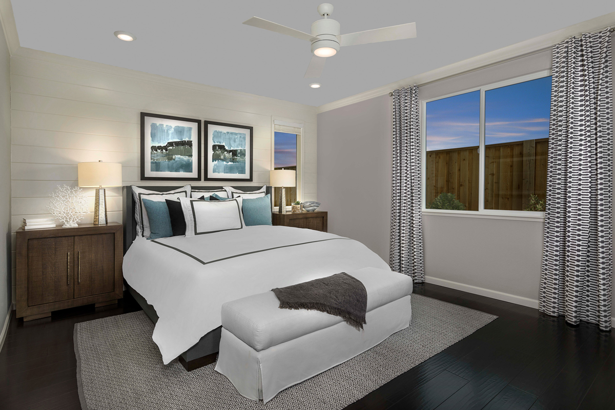New Homes in Rohnert Park, CA - Live Oak at University District Plan 2004 - Master Bedroom