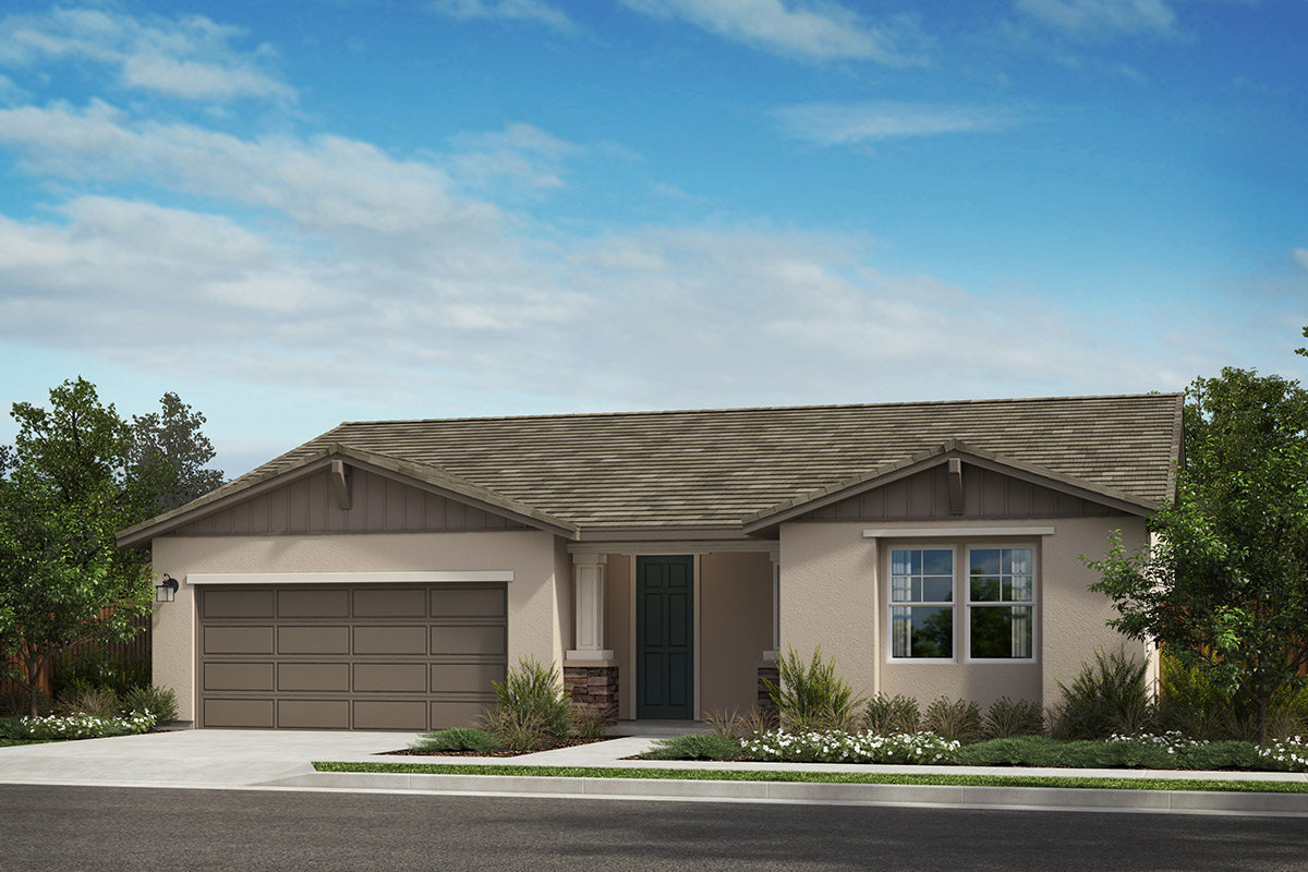 New Homes in Rohnert Park, CA - Live Oak at University District Plan 1787 Elevation B