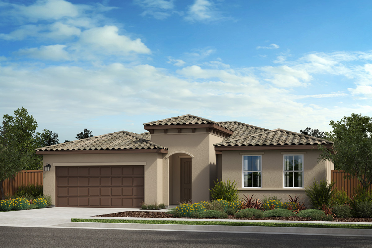 New Homes in Rohnert Park, CA - Live Oak at University District Plan 1787 Italianate C