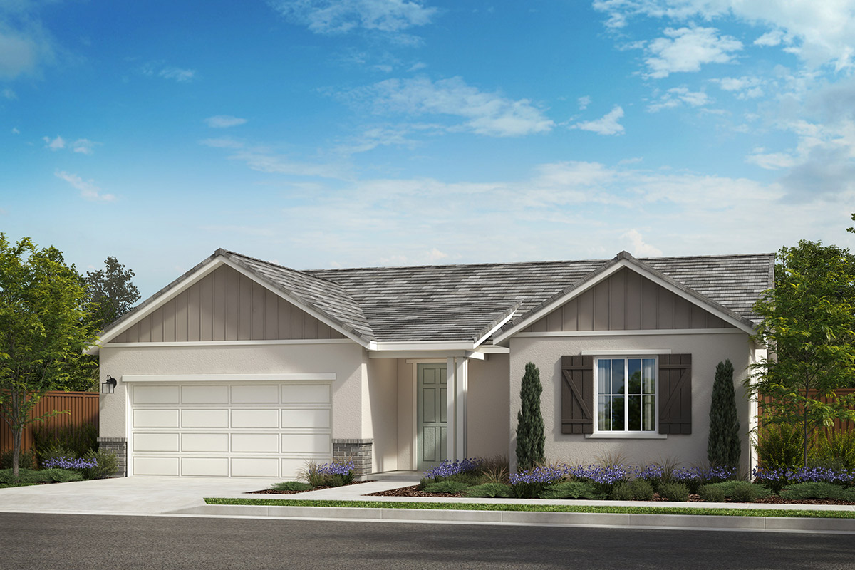 New Homes in Rohnert Park, CA - Live Oak at University District Plan 1787 Elevation D