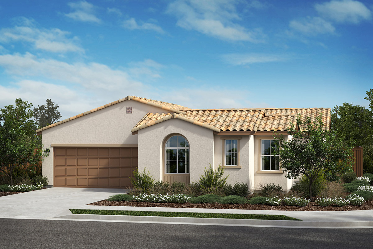 New Homes in Rohnert Park, CA - Live Oak at University District Plan 1936 Spanish A
