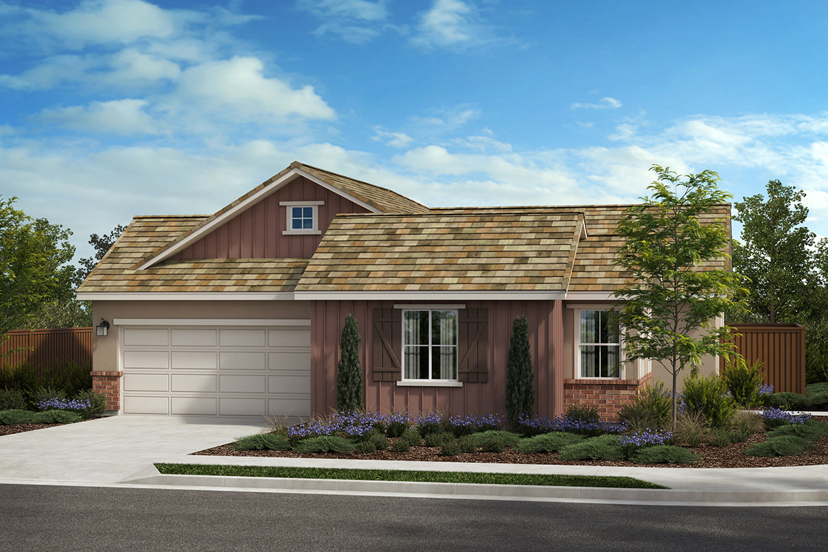 New Homes in Rohnert Park, CA - Live Oak at University District Plan 1936 Farmhouse D
