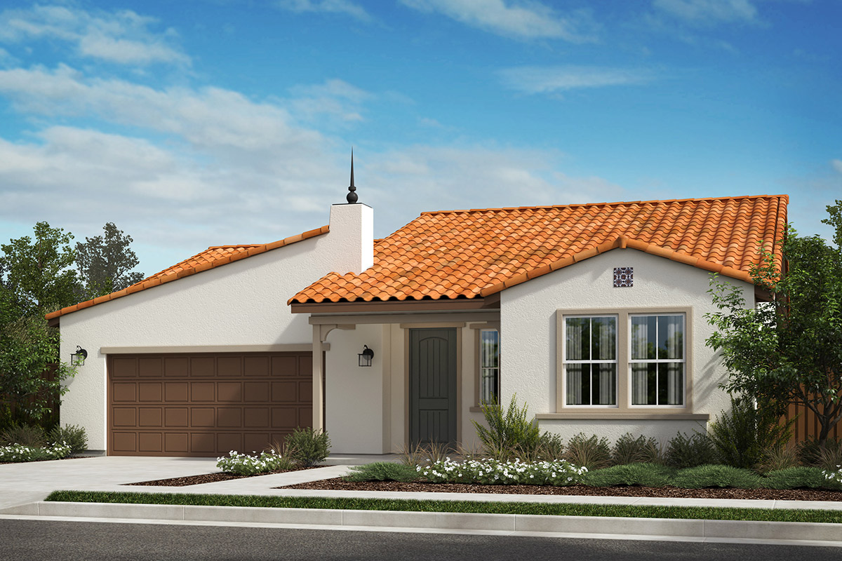 New Homes in Rohnert Park, CA - Live Oak at University District Plan 2004 Spanish A