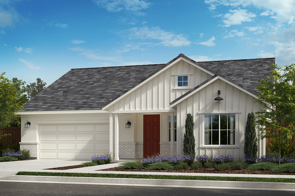 New Homes in Rohnert Park, CA - Live Oak at University District Plan 2004 Farmhouse D