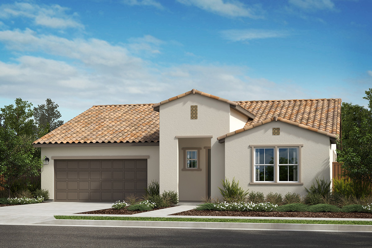 New Homes in Rohnert Park, CA - Live Oak at University District Plan 2152 Spanish A