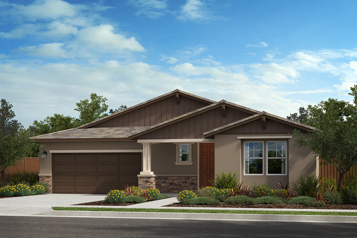 New Homes in Rohnert Park, CA - Live Oak at University District Plan 2152 Craftsman B