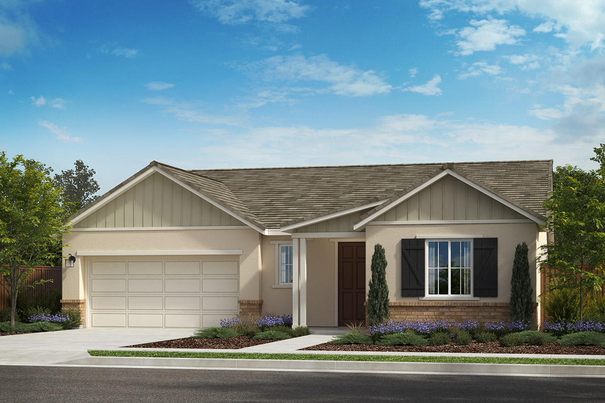 New Homes in Rohnert Park, CA - Live Oak at University District Plan 2152 Farmhouse D