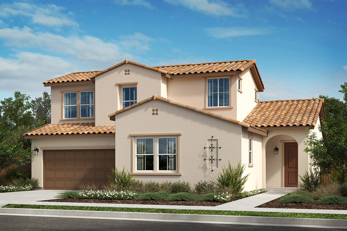 New Homes in Rohnert Park, CA - Live Oak at University District Plan 2702 Spanish A
